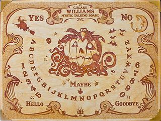C. Blake Williams Mystic Talking Board. Spirit Board. Ouija Board.