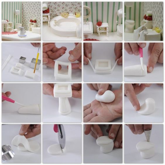 how to make a toilet cake step by step