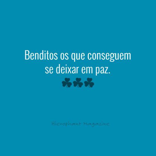 Benditos! :)