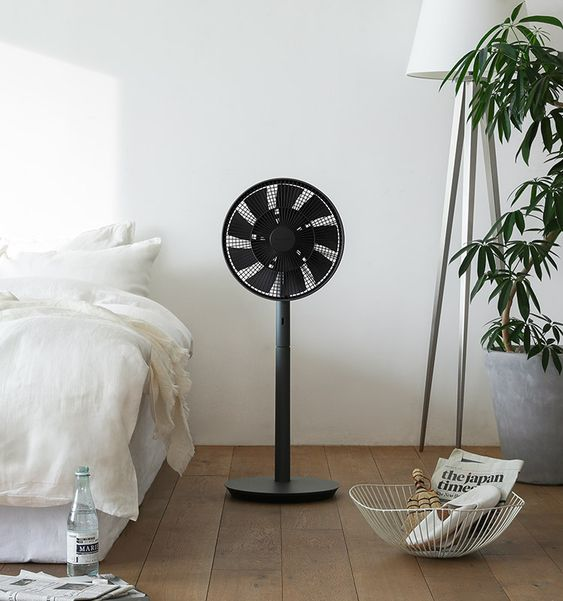 扇風機 バルミューダ グリーンファン ブラック おしゃれ シンプル インテリア