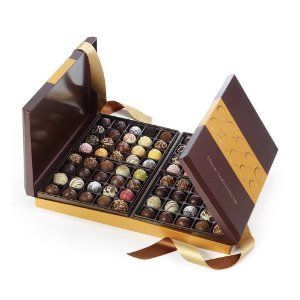 GODIVA Chocolatier Ultimate Truffle Collection 80 Pieces  ♥  Available at GodivaChocolateShop.com.  This would be an awesome gift to send to a family for the holidays.