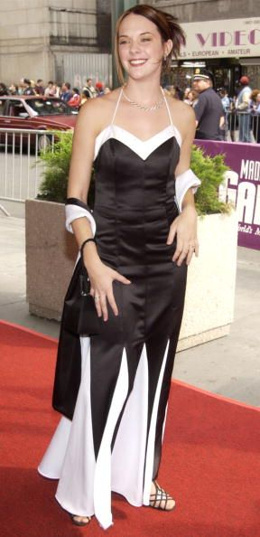 ''The Bold and the Beautiful'' actress Courtnee Draper arrives on May 17 2002 for the 29th Annual Daytime Emmy Awards at Madison Square Gardens''...