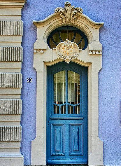 Door in Zell a. H., Germany·