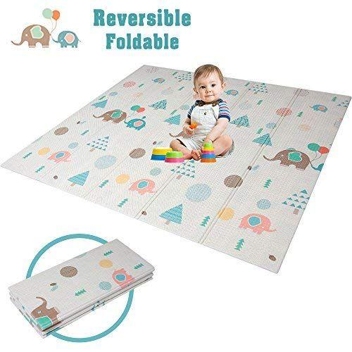 Han Mm Baby Play Mat Folding Baby Care Xpe Playmat Foam Floor Slip Extra Large Foam Reversible Waterproof Port Toddler Outdoor Baby Play Mat Baby Play Mat Foam