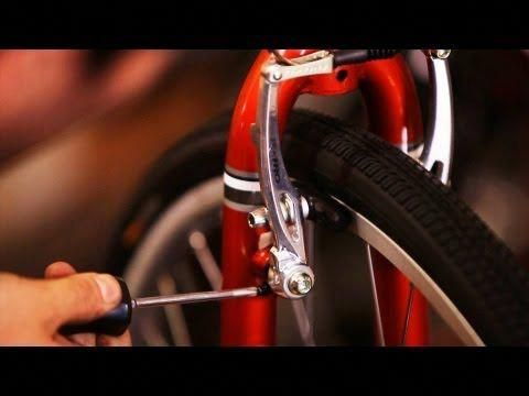How To Adjust Too Tight Brakes Caused By Misalignment Bicycle