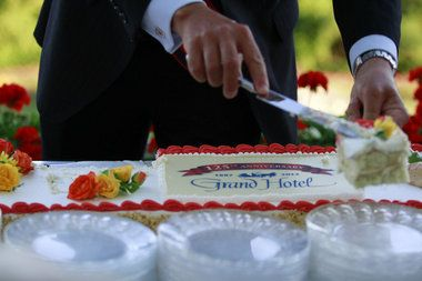 Like cake? Check out the @Grand Hotel's 125-foot-long birthday cake (photo gallery)