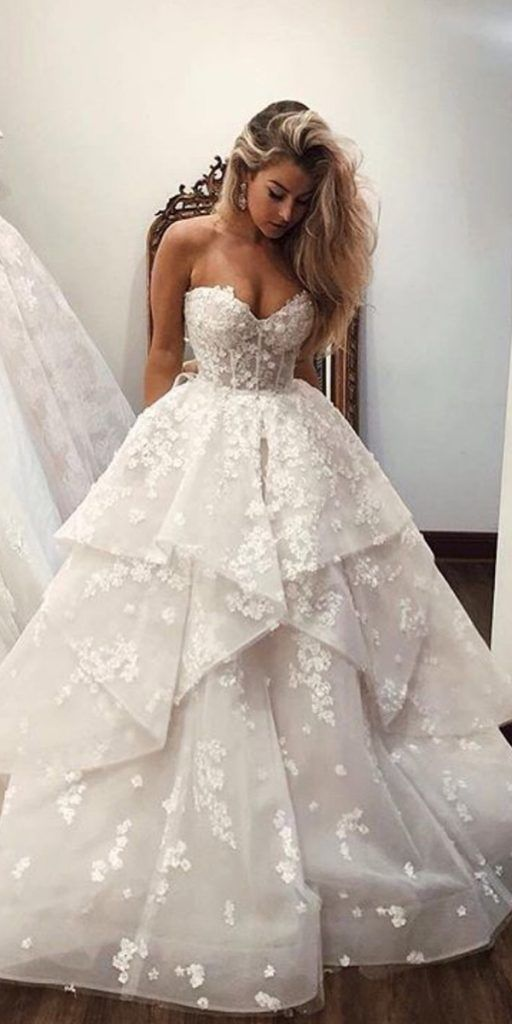 65 Absolutely Gorgeous And Wonderful Wedding Dress Page 15 Of 16 In 2020 Embroidered Wedding Dress Wedding Dresses Lace Ballgown Ball Gowns Wedding