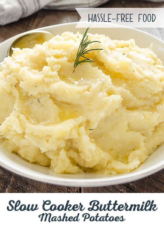 Mashed Potato Recipes Slow Cooker Mashed Potatoes Recipe Recipes Buttermilk Mashed Potatoes Slow Cooker Recipes