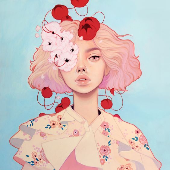 <p>It's been a long time since I've stumbled upon an illustrator who has been able to bring a bit of freshness into the illustrating world. Kelsey Beckett's illustrations of beautifu:
