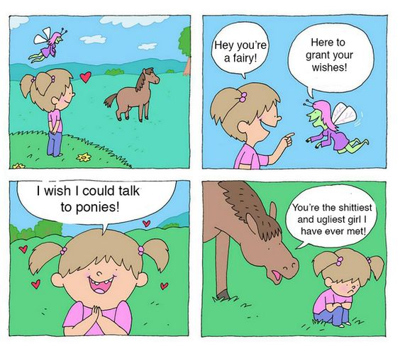 I wish I could t talk to ponies