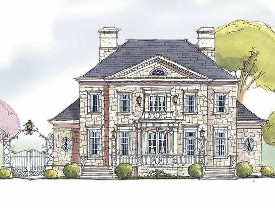 Eplans french country house plan an english manor home for English manor house plans