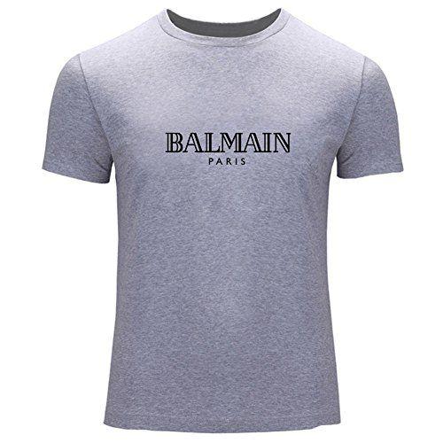 Balmain Logo Printed for Mens T-Shirt Tee Outlet
