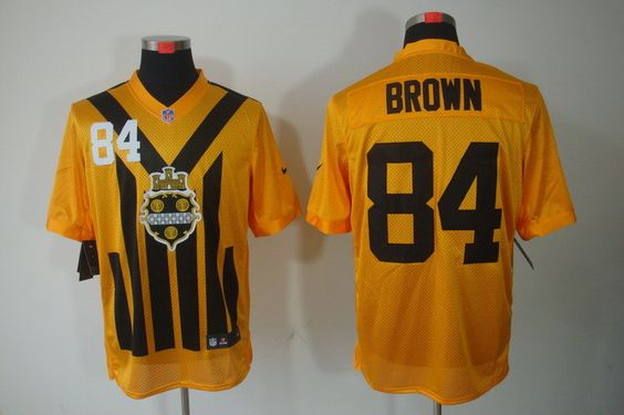 5e7a846f8cd ... Mens Pittsburgh Steelers 80 Jack Butler 1933 Yellow Throwback Jersey  NFL Pittsburgh Steelers Elite Jerseys Pinterest ...