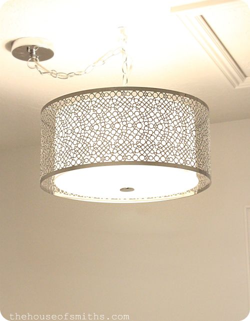 Exceptional Drum Shade Lighting From Lowes | Laundry Room Ideas | Pinterest | Drum  Shade, Drums And Laundry Rooms