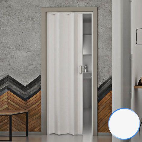 Porte Pliante Reductible Accordèon Blanc Pastel Pvc