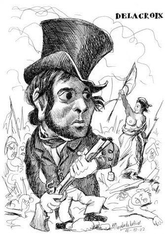 Delacroix by Pablo Morales de los Rios