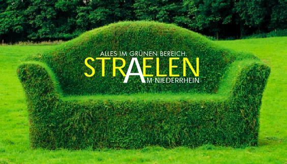 Grünes Sofa Straelen