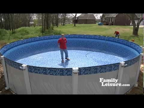 Pinterest the world s catalog of ideas - Above ground swimming pools installation ...