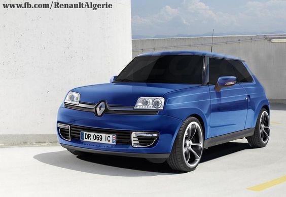 Le retour d'une voiture légendaire. Un aperçu de la nouvelle Renault 5