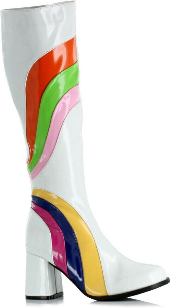 Jiggy Boots - Adult Boots (white)  Product #: WC1300jiggywht