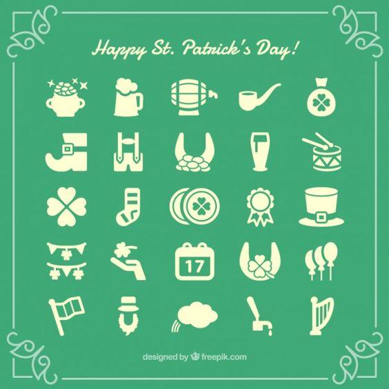 Seguimos con recursos del día de San Patricio. En esta ocasión son una colección de iconos que...