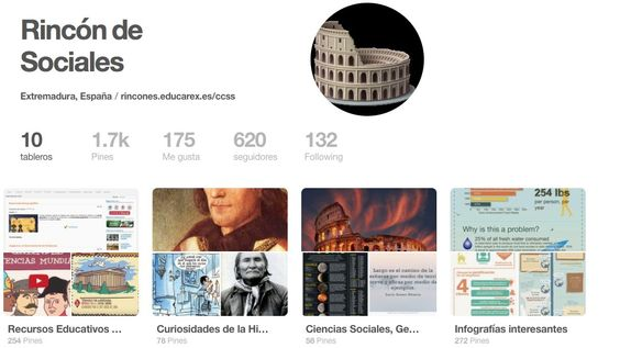 Si eres profe de Ciencias Sociales y te gusta Pinterest te invitamos a conocernos. https://t.co/yzJ8JdkbK0 https://t.co/D0IILxLAqV - Rincón de Sociales