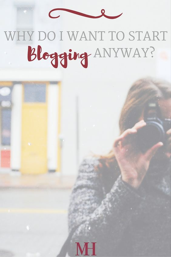 Why Do I Want to Start Blogging Anyway? I want to connect with young PR pros, and help them with their goals of securing their first internship or entry level job in public relations.