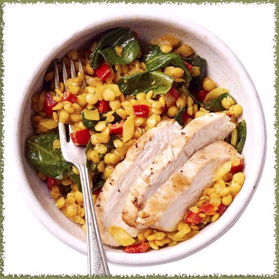 Чечевичный овощной Даль с курицей