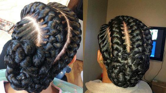 3 Goddess Braids Hairstyles: Stunning Goddess Braids Hairstyles For Black Women