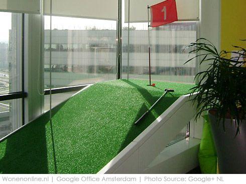 Binnengluren bij google interieur and amsterdam for Kantoor interieur inspiratie
