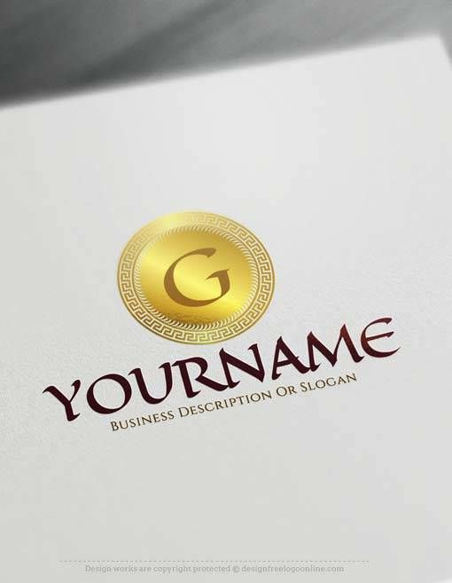 Create Online Greek Letters Logo Design With Free Logo Maker Letter Logo Design Logo Design Software Letter Logo