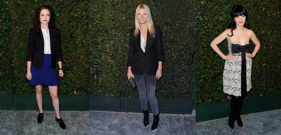 Celebrities wearing #StellaMcCartney featuring Natalie Portman and Johnny Depp #Fashion #Celebrities