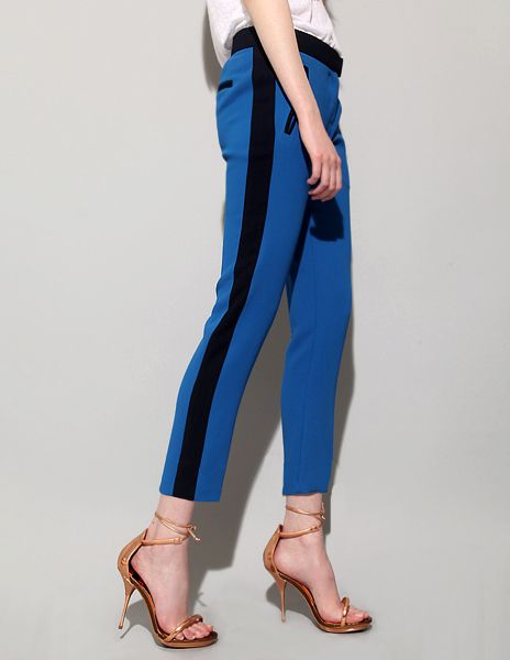 """Side-striped tuxedo trousers are so """"vintage"""" and cool to me. Any color will do :)"""