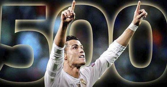 Los 500 goles de CR7: -5 con Sporting Lisboa -118 con Manchester United -322 con Real Madrid -55 con Portugal