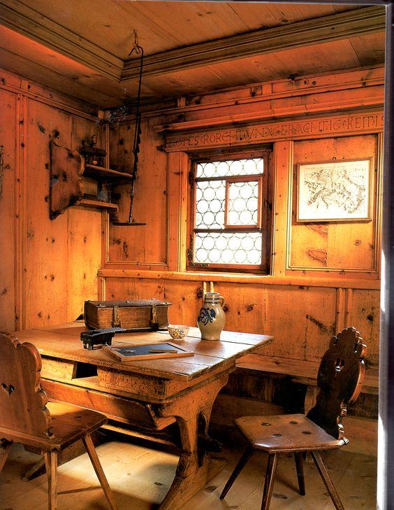 knotty pine interiors