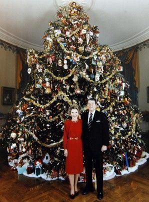 1987. Nancy Reagan. Musical theme: 1981 Nancy, House Trees, Exotic Christmas Trees, Christmas Holiday, History Presidents White House, White House Christmas Tree, Whitehouse Christmas, Whitehouse Dc, Presidents Family History