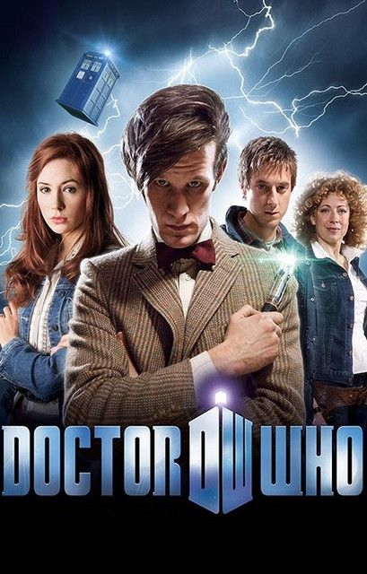 Doctor Who Cast 11th Doctor Matt Smith TV Show Poster 11x17