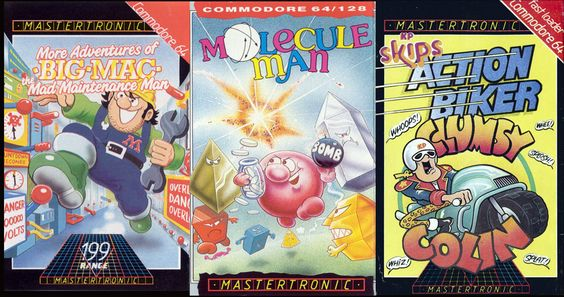 Retro gaming with Mastertronic – Budget software for the Commodore 64.