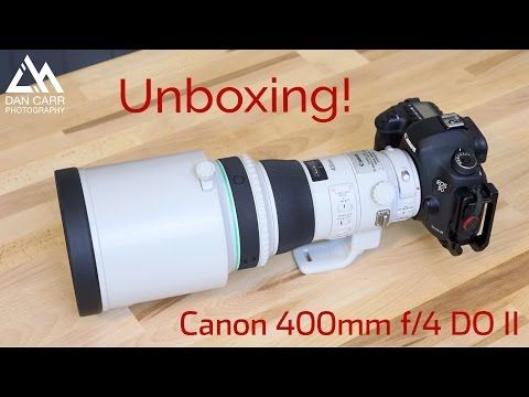 Canon 400mm F 4 Do Ii Unboxing Youtube Super Telephoto Lens Unboxing Canon
