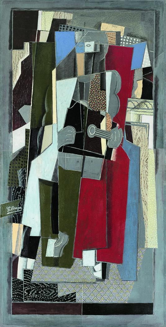 """""""La musicienne"""" (1917-1918) : George  Braque"""