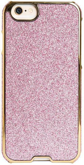 Agent 18 Pink Glitter iPhone 6/6s Inlay Case