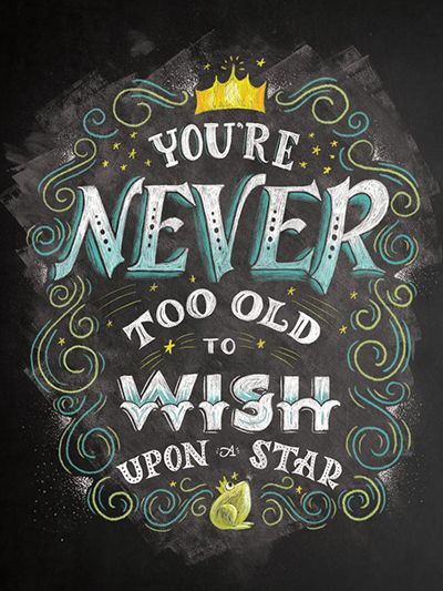 """Your never too old to wish upon a star"" by Shauna Lynn Panczyszyn:"