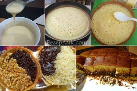 Martabak Manis Terang Bulan Praktis Cukup Pake Teflon Makanan Ringan Manis Makanan Ringan Gurih Resep Makanan