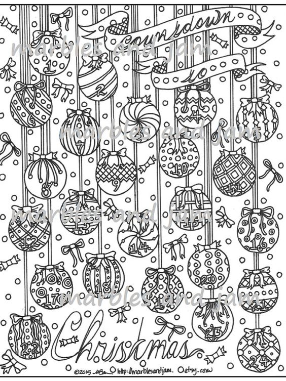 advent coloring pages for adults - photo#26