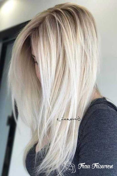 Blonde Und Hubsche Lange Frisuren Fur Frauen Haarfarben Balayage Haare Blond Pinterest Frisuren