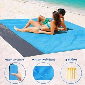 Top 10 Best Beach Blankets In 2020 Reviews Patio Lawn Garden In 2020 Beach Blanket Beach Mat Picnic Blanket