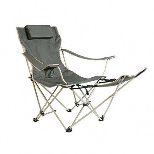 Hm Dx Portable Outdoor Folding Chairs Camping Chairs With Footrest Cup Holder Adjustable Back Heavy Outdoor Folding Chairs Outdoor Wicker Chairs Camping Chairs