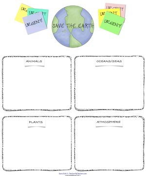 save the earth the earth and worksheets on pinterest. Black Bedroom Furniture Sets. Home Design Ideas