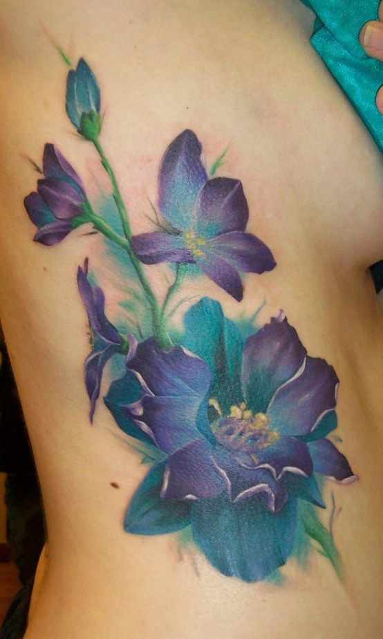 Purple Flowers by Dripe.deviantart.com on @deviantART   Too big for me but it's so pretty :)