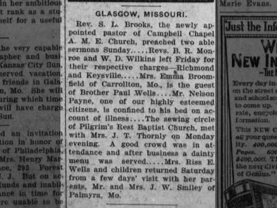 Glasgow, Howard County News